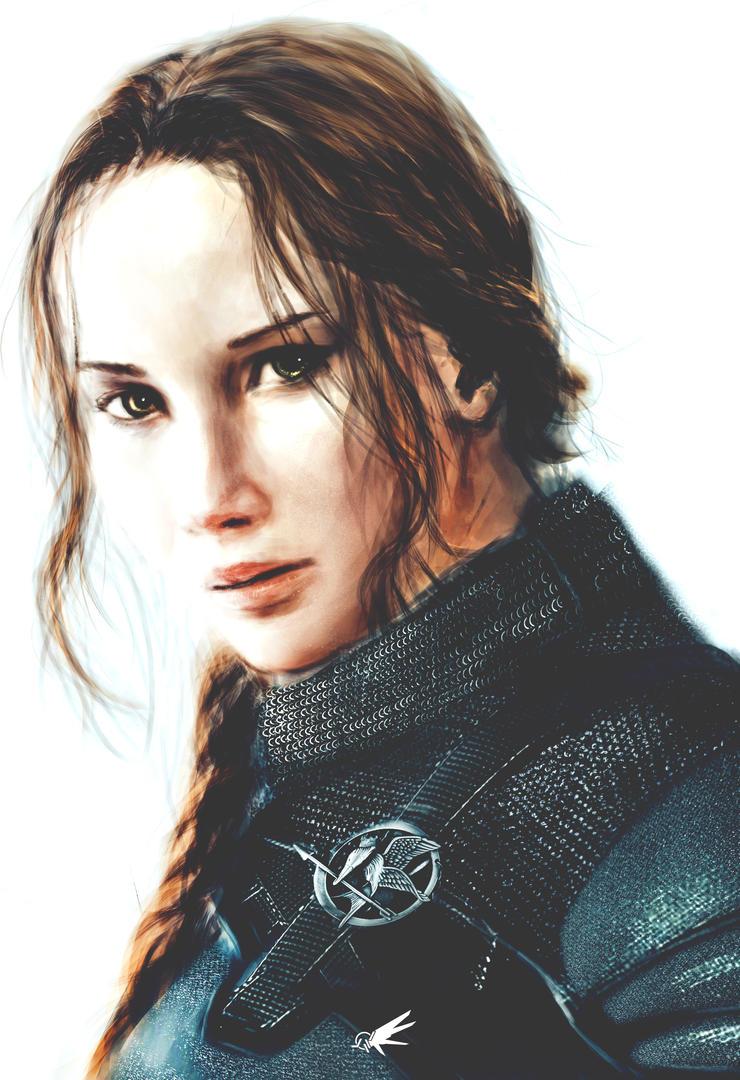 Katniss Everdeen - Fan Portrait by YTheJoshuaTreeY