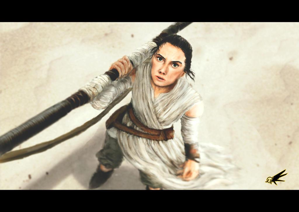 Rey - Star Wars by YTheJoshuaTreeY