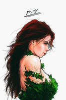 Poison Ivy Profile by YTheJoshuaTreeY