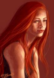 Ginny by aqvarelles