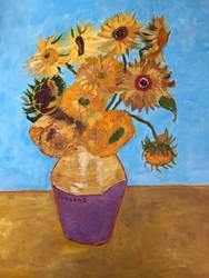 Sunflowers  by IngridChristina