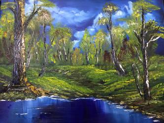 Twilight Meadow by IngridChristina