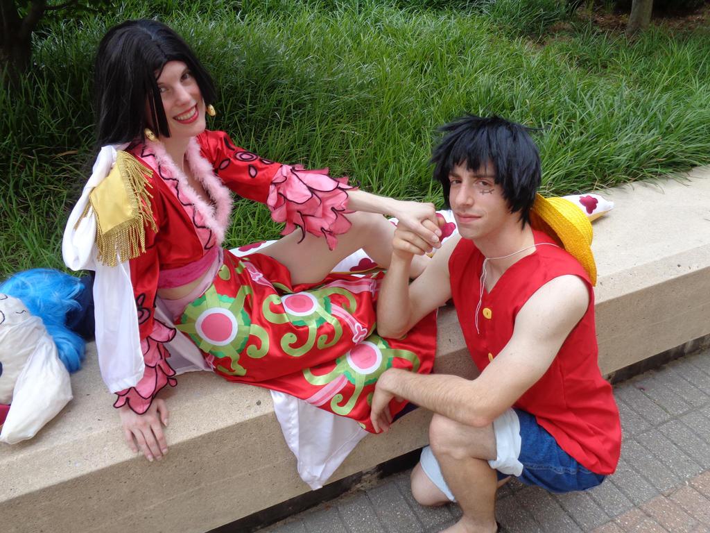 Boa's Luffy by chibi-mai