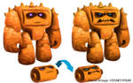 Toy Story 3 CHUNK concept art
