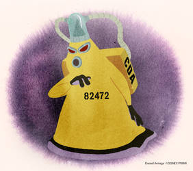 Concept art from Monsters University
