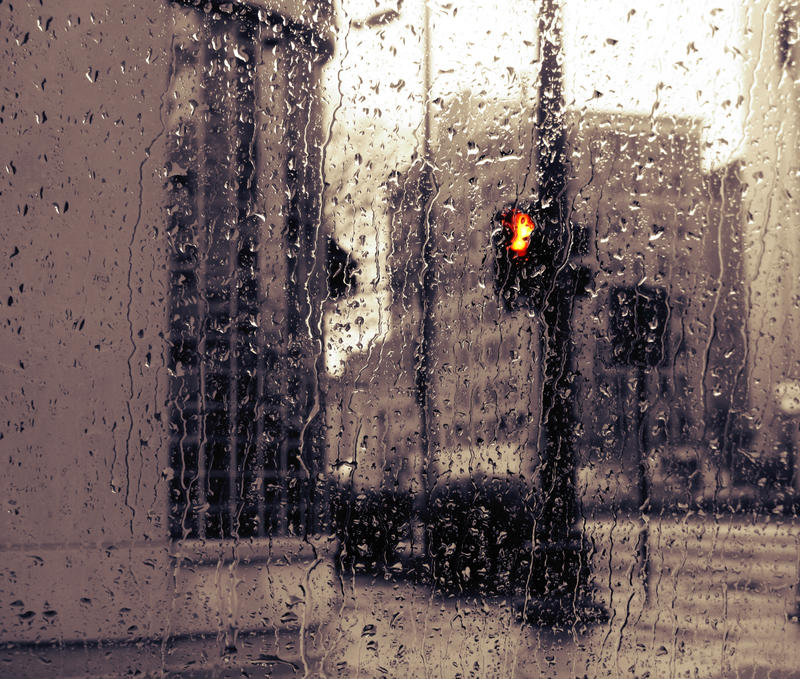 A Light in the Rain by cail-couture