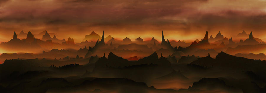 Illusion Of Mist Hellscape by nathanmarciniak