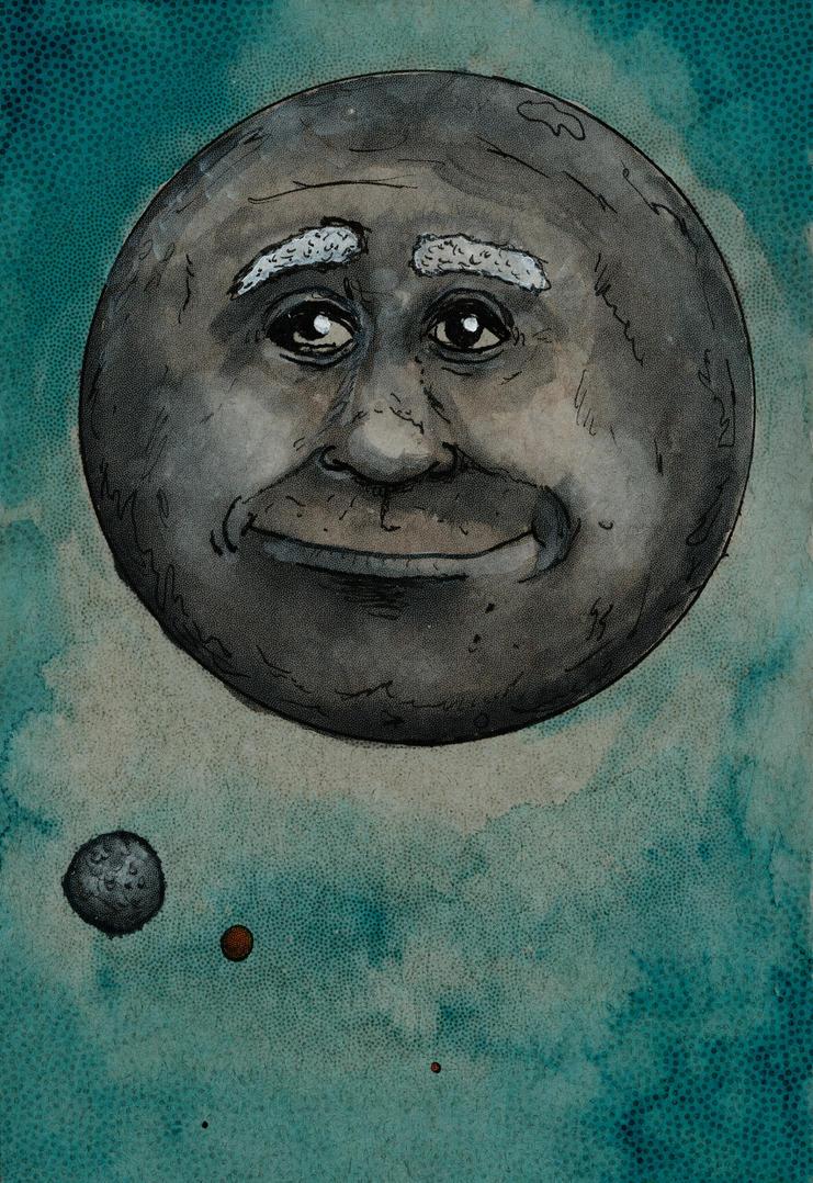 Moonface by nathanmarciniak