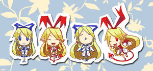 SD Flonne Evolution by shadowdancer09