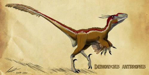 Deinonychus by imapuniverse