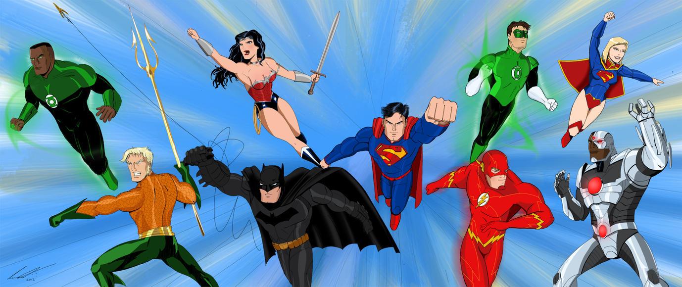 DCNU - Justice League by imapuniverse