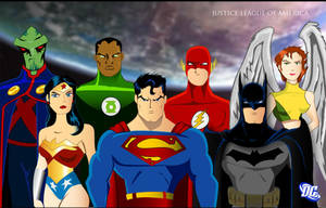 Justice League by imapuniverse
