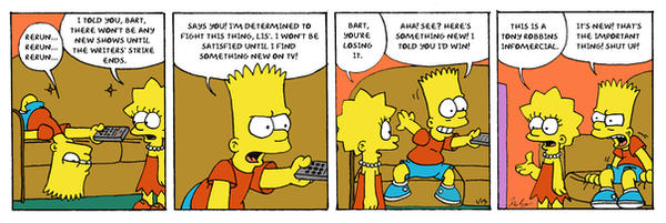 Bart The Determined Color by Georgia-O-Queef