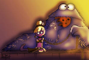 Cookie the Hut Color by Georgia-O-Queef