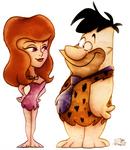 Fred Flintstone + Ann Margrock