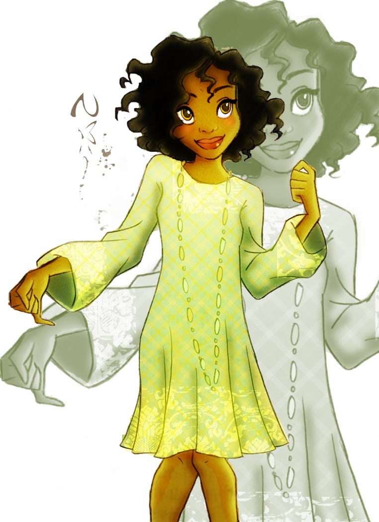 Disney Fashion _ Tiana by Georgia-O-Queef