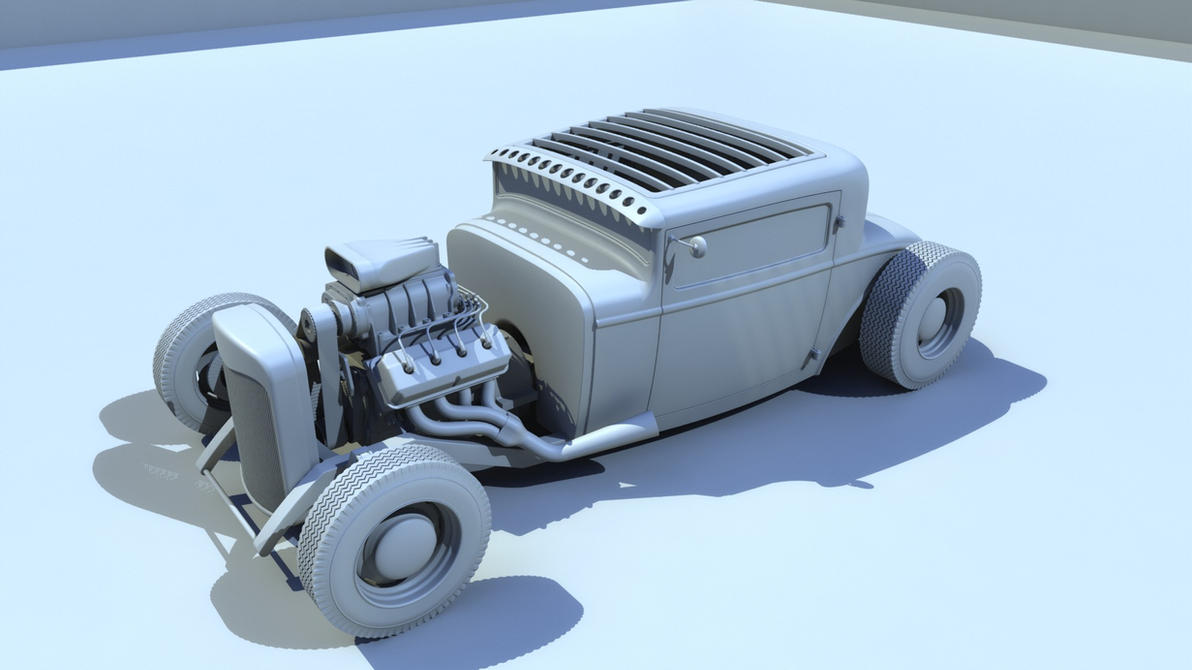 1930 Ford Model A Coupe Hot Rod by BuseHase on DeviantArt
