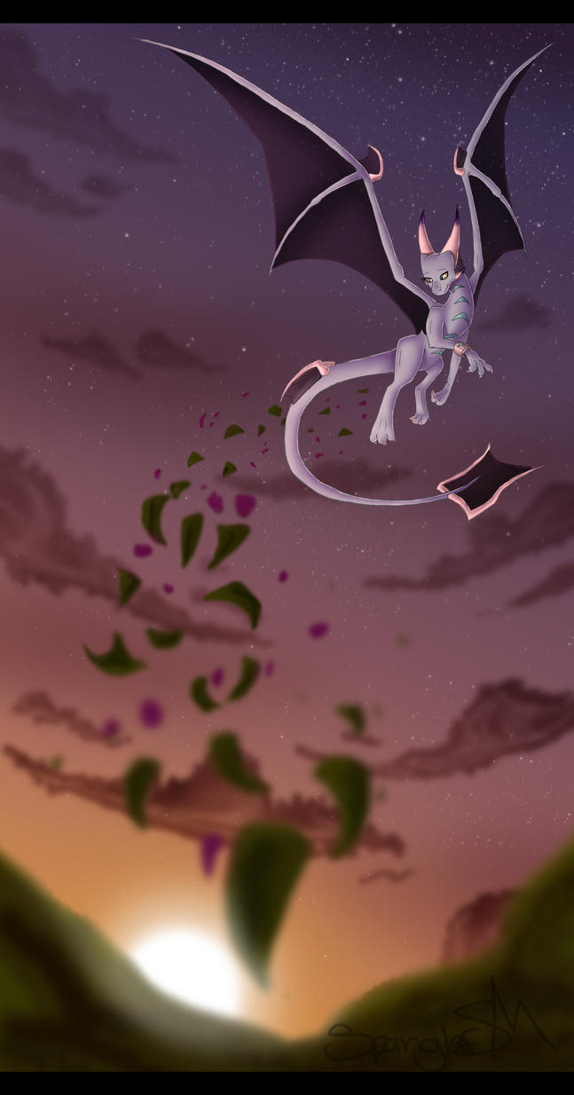 Flight and Fantasy by hannahspangler