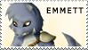 Emmett Stamp by hannahspangler