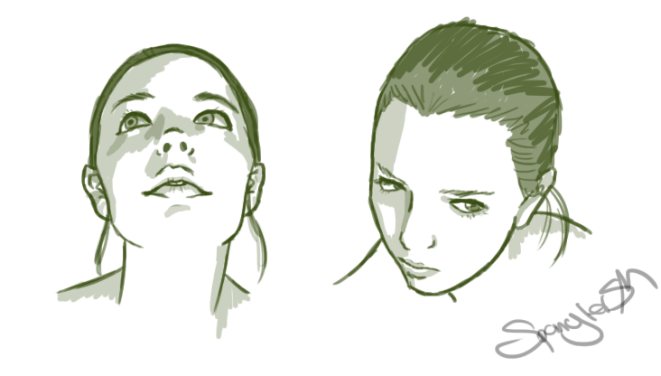 Face Reference by hannahspangler
