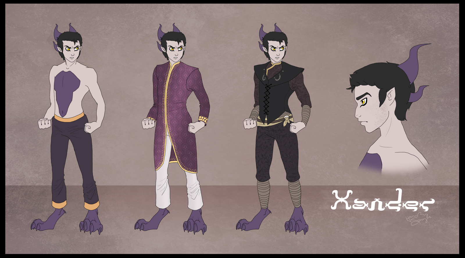 Xander - Outfit Concepts by hannahspangler
