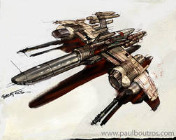 space ship by paulboutros