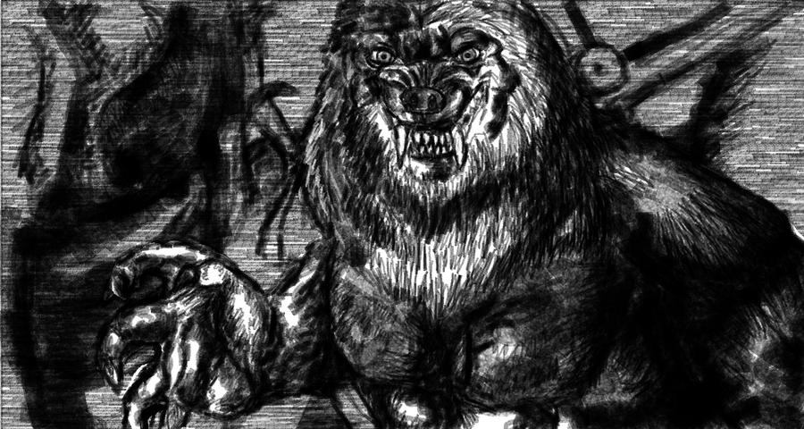Van Helsing Werewolf Drawing Van helsing werewolf byVan Helsing Drawing