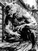 Ink Werewolf by terminator7000