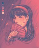 Yukiko by creylune