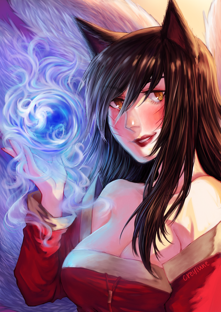 Ahri by creylune