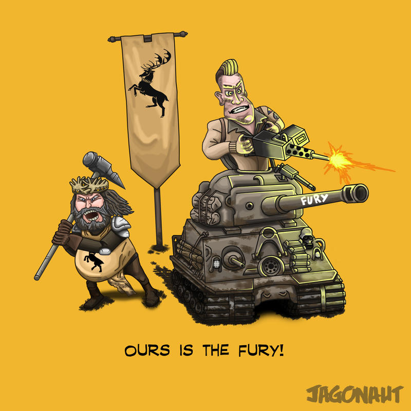 Ours is the Fury! by Jagonaut