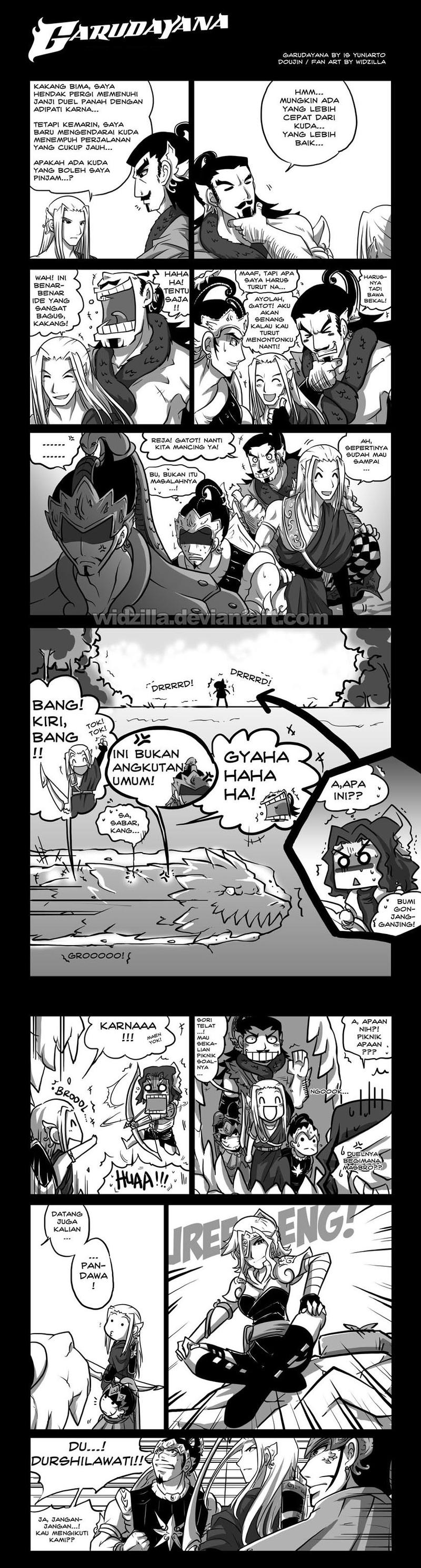 Garudayana Carangan : Duel by widzilla