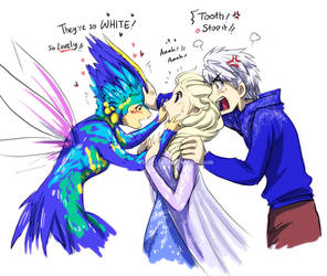 ROTG - Frozen : Lovely Teeth xDD by widzilla