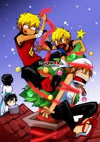 CR: Secret Satan... eh Santa by widzilla