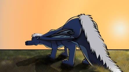 Blue-butt