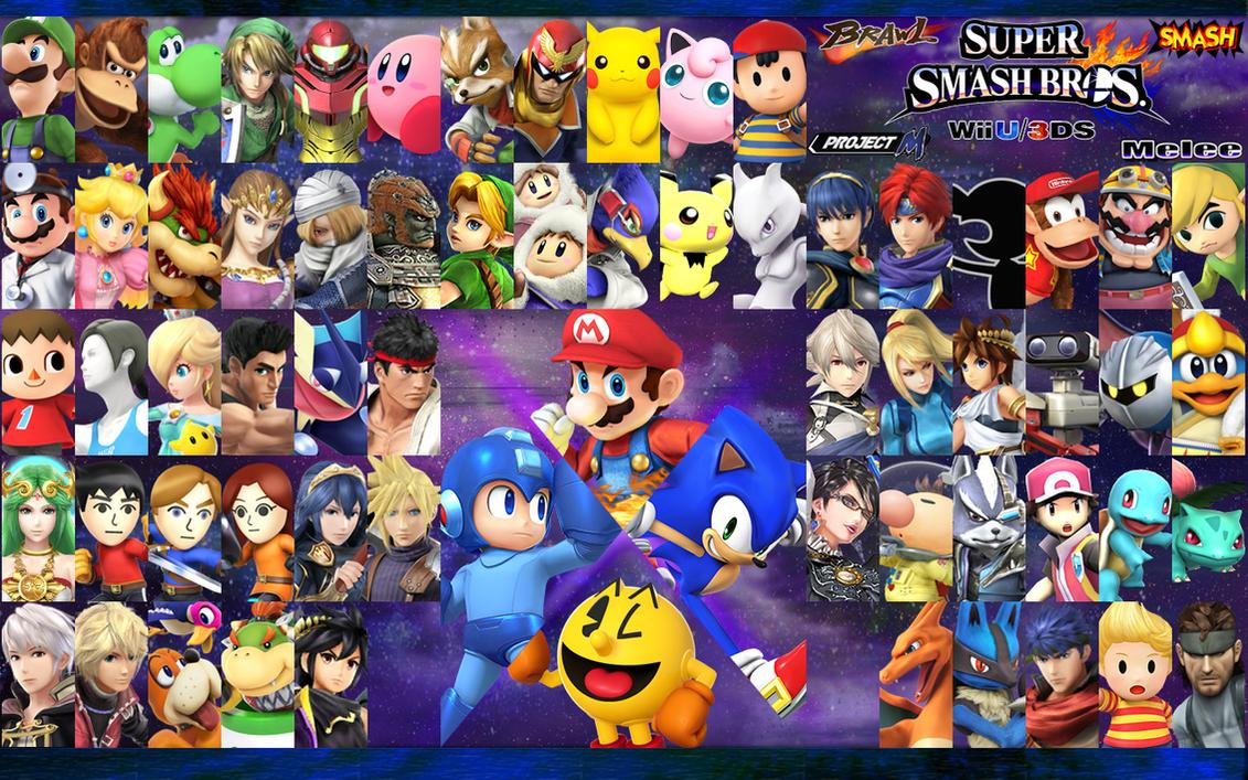 Super Smash Bros Wallpaper by ShinFurevindo