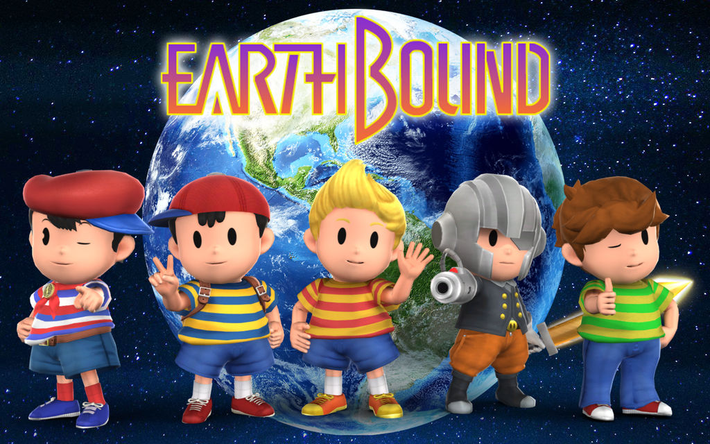 Earthbound Wallpaper By Shinfurevindo On Deviantart