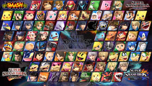 Super Smash Bros. Ultimate Wallpaper by ShinFurevindo