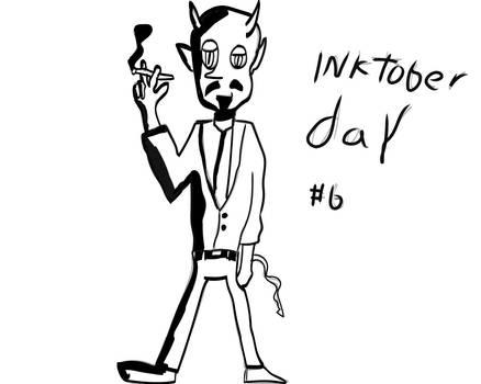 Inktober day #6: Lucio Samsa