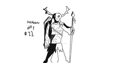 Inktober day #11: Spear