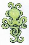 Celtic Octopus Design