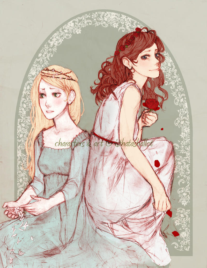 Snow White, Rose Red by isthatashallot