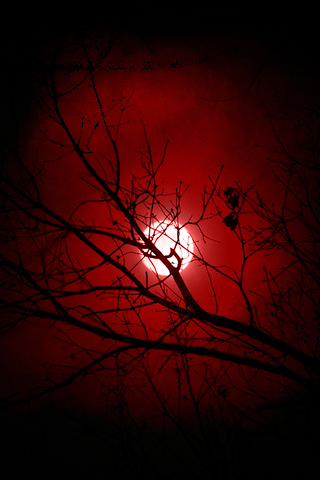 Ipod Background Red Moon by Red Moon Iphone Wallpaper