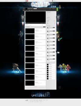 YouTube 2.0 Design for CMNeir