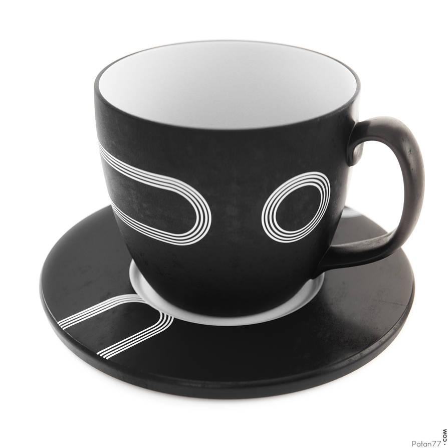 3D Tea mug
