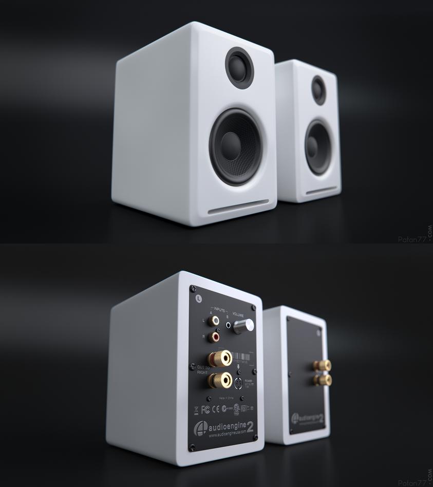 Audioengine A2 by Patan77xD on DeviantArt on