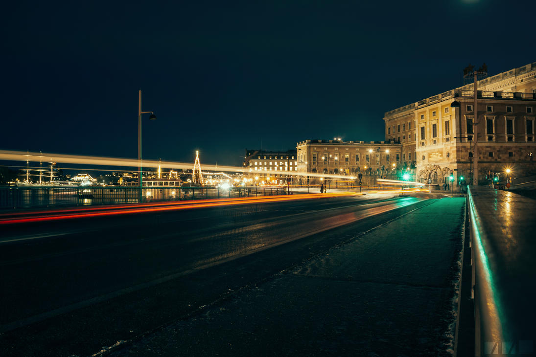 Winter Stockholm city by Patan77xD