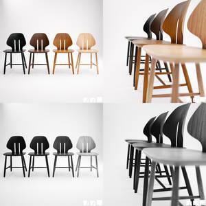 Retro Modern Chair J67 [3D]