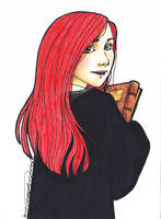Lily Evans by miriamartist