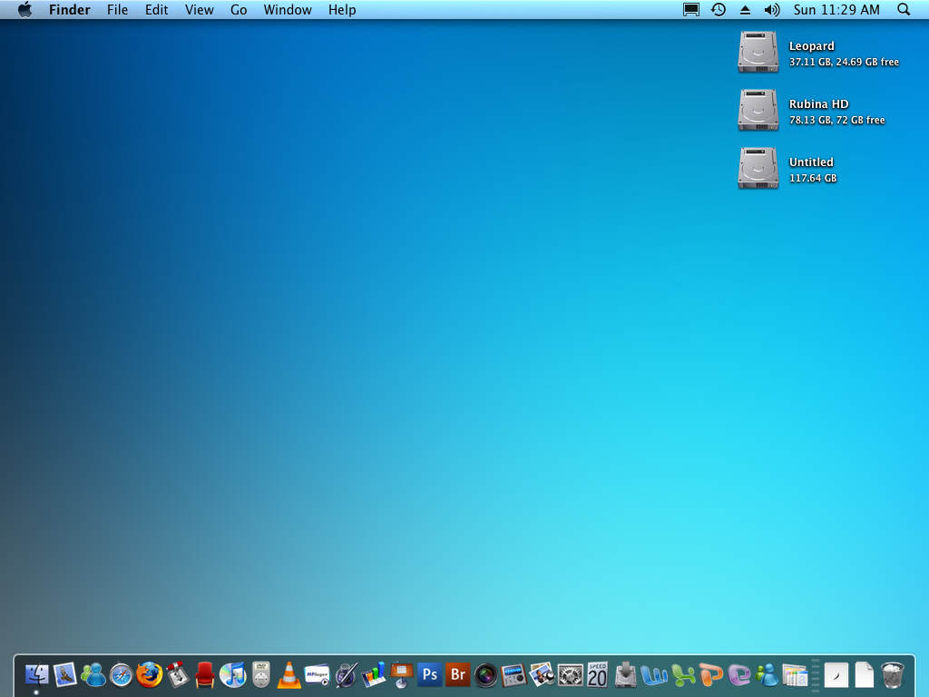 Mac OS X DESK 2 by rubina119
